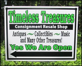 Custom Corrugated Sign